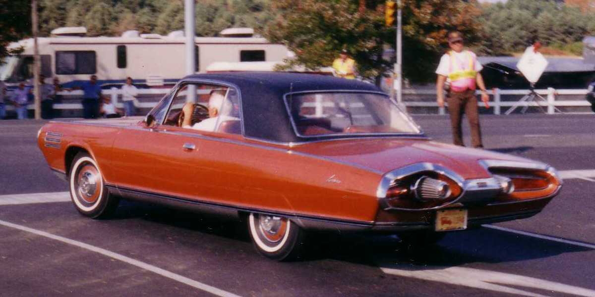 Chrysler Turbine Car: 1963 Chrysler Turbine Car: The Short-Lived Classic Is