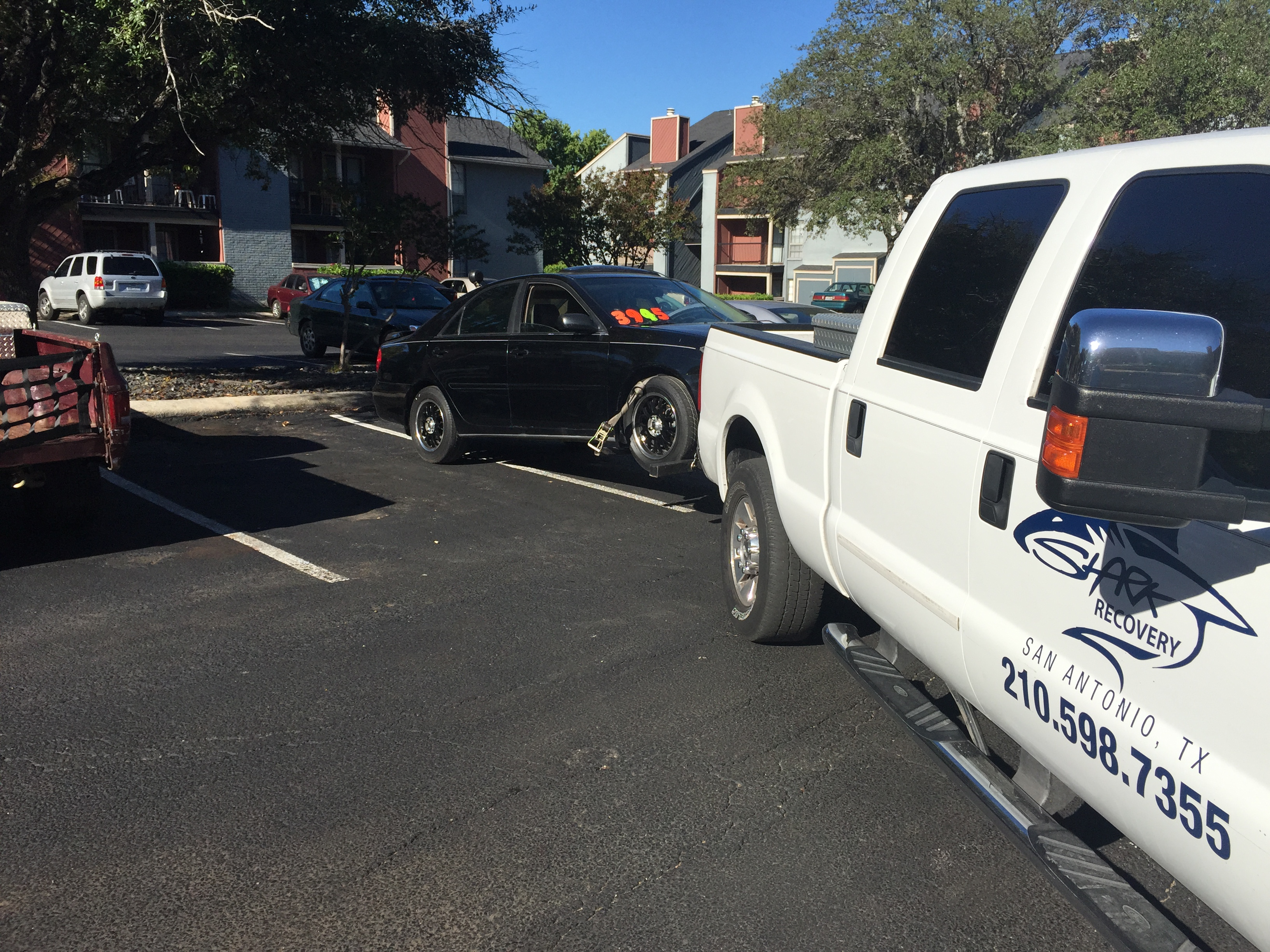 Tow truck. Cost of calling a tow truck 41
