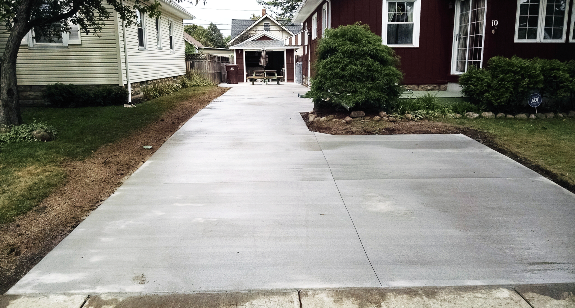 Rochester concrete contractor explains 3 steps for Base for concrete driveway