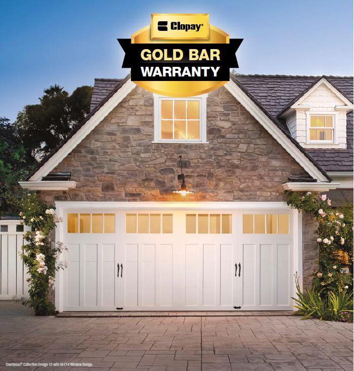Garage Door Installation Get The Clopay 174 Pro Series Gold