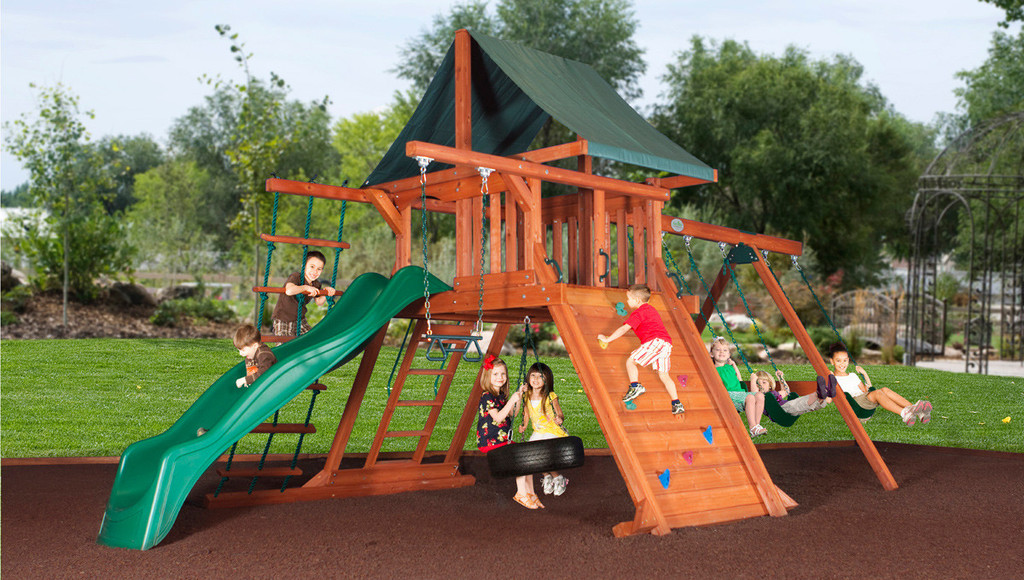 Choose The Avalanche Play Set For Backyard Fun This Summer The