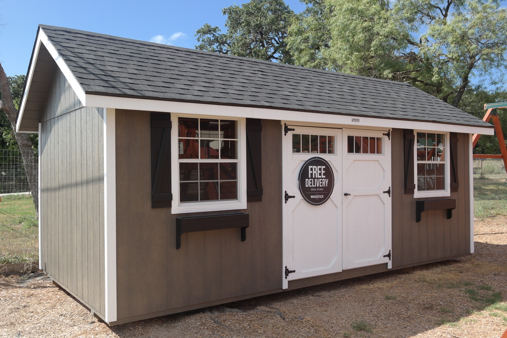 Garden Sheds San Antonio get a free in-home estimate on sheds & more! - backyard adventures