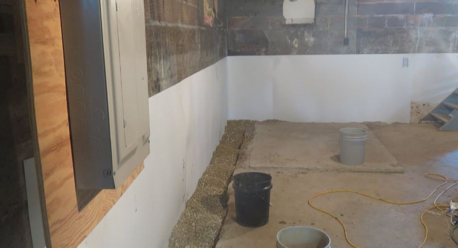 Interior vs exterior basement waterproofing which is better for you beaver basement Exterior basement waterproofing