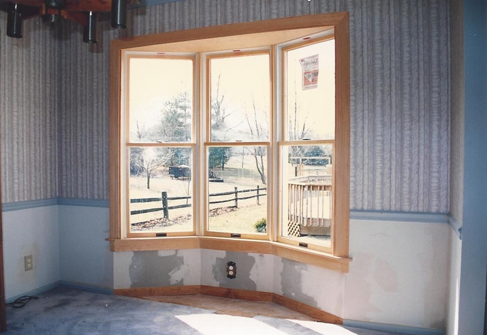 And Here Is The Exterior Of Window During Transformation Process