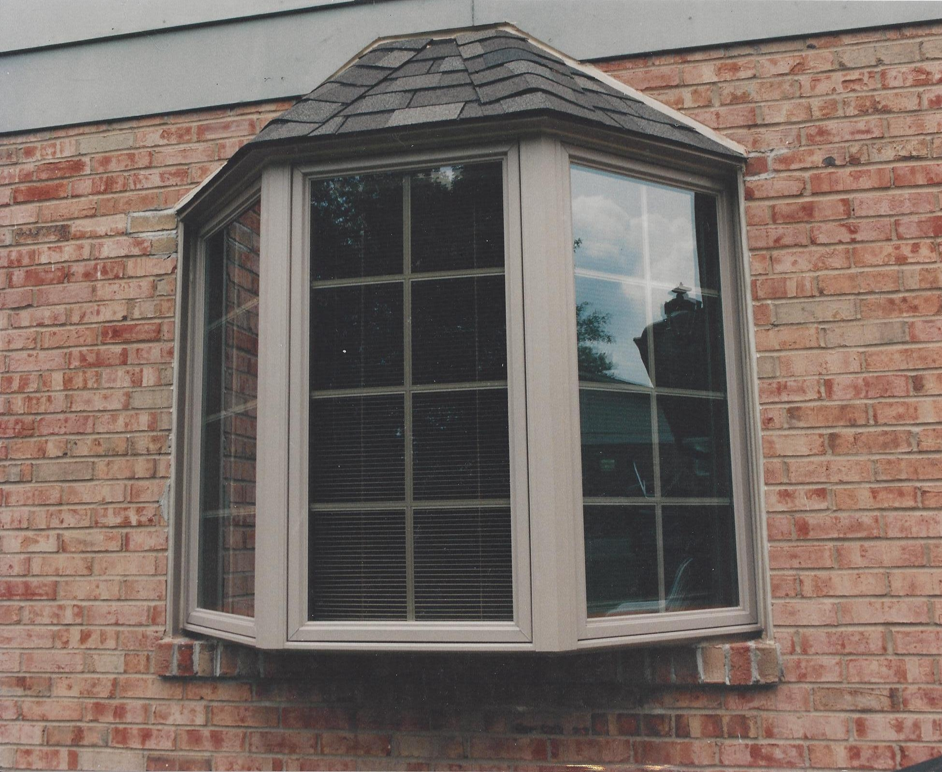 Bay window basics jfk window door forest park nearsay for Bay window installation