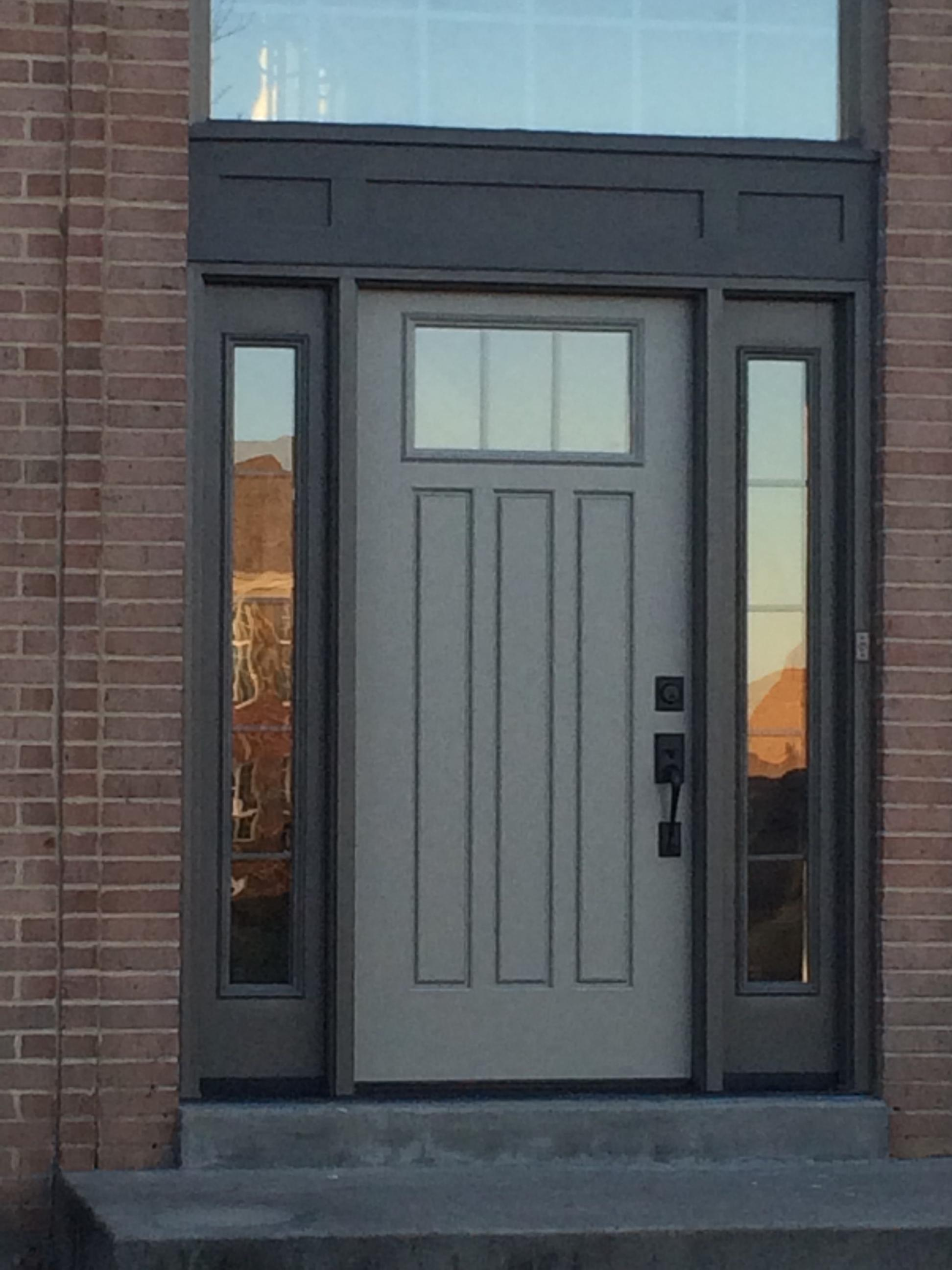 Part of town Milford. Provia Door ... & Front Door Friday for JFK Window and Door Customer in Milford - JFK ...
