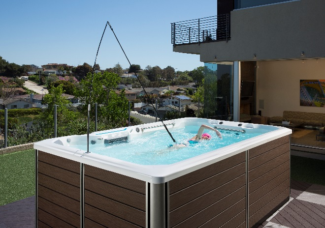New Spas Hot Tubs Let You Swim Without Taking Up Space Watson 39 S Of Florence Florence Nearsay