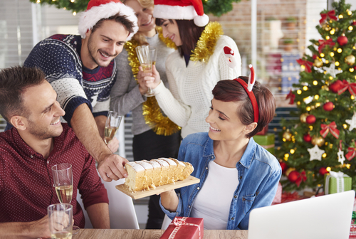 Corporate Holiday Events If Its Hard To Recognize Family Members Doubly Fellow Employees Of Large Corporations