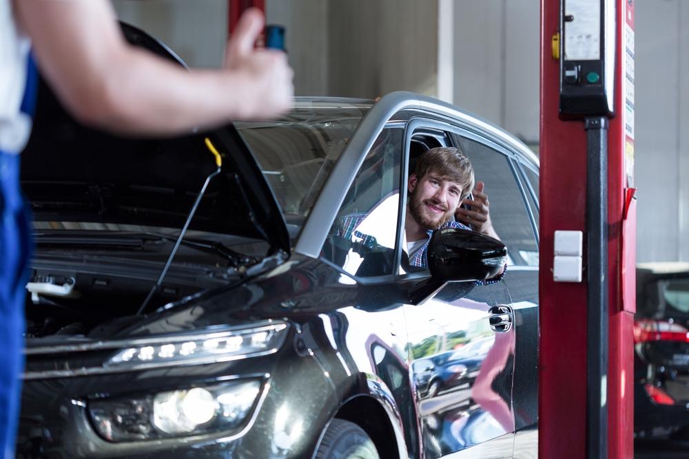 Check Engine Light Flashing Car Sputtering