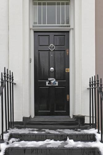 3 top winter prep tips for exterior door installations for Energy efficient entry doors