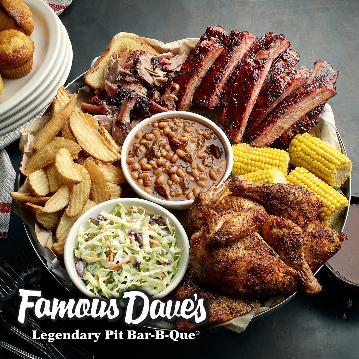how to place an order with famous dave's caterers - famous dave's