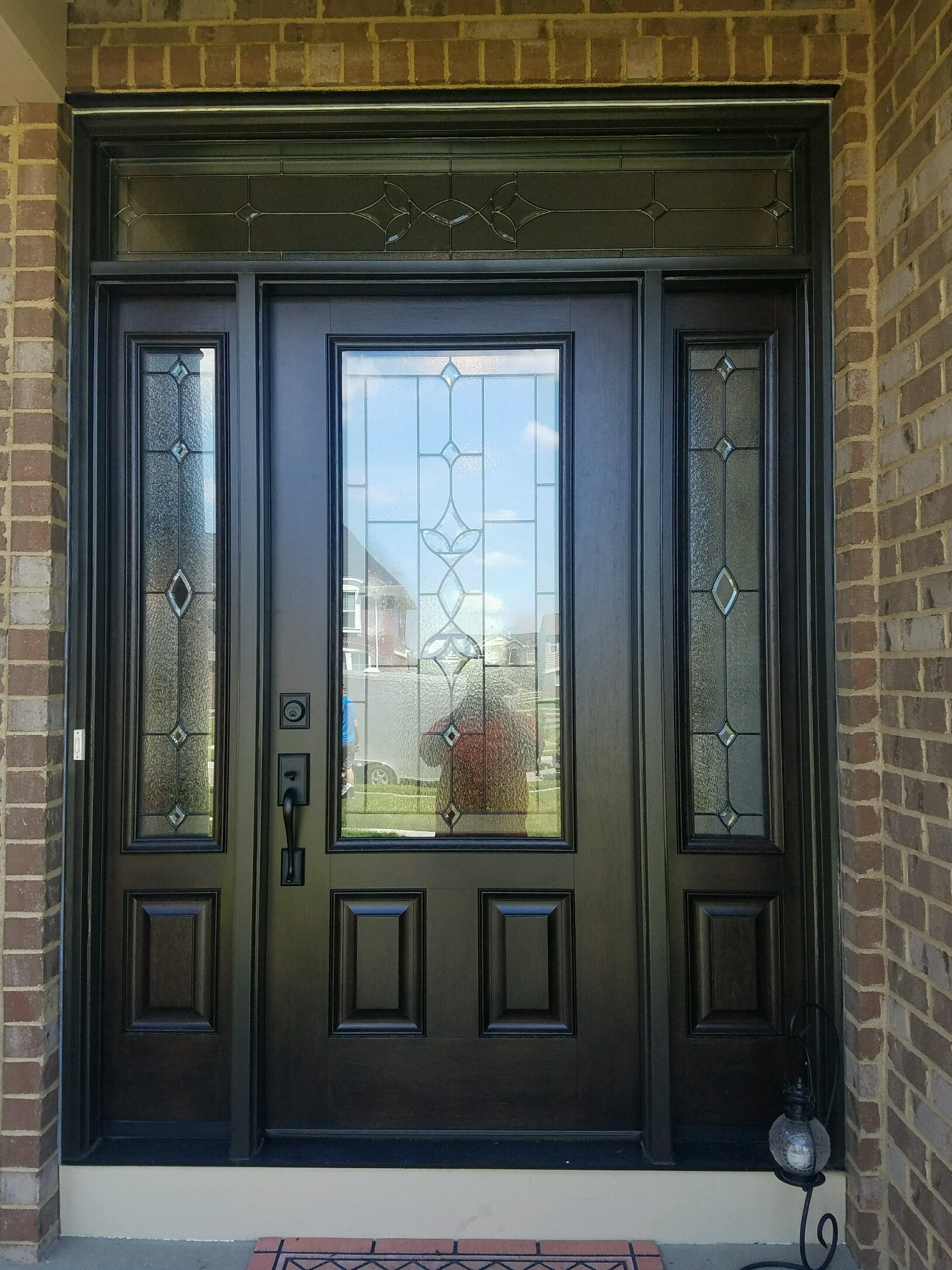 image & JFK Window and Door Front Door Friday in Harrison for a Provia Door ...