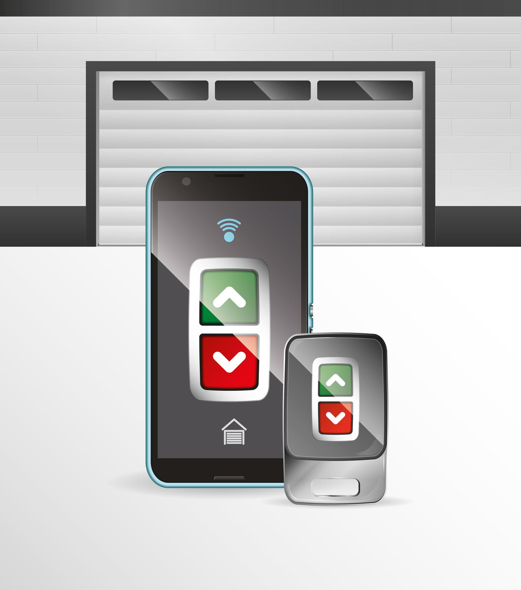 3 Benefits Of Smartphone Operated Garage Door Openers