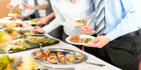 Level of preference of catering service