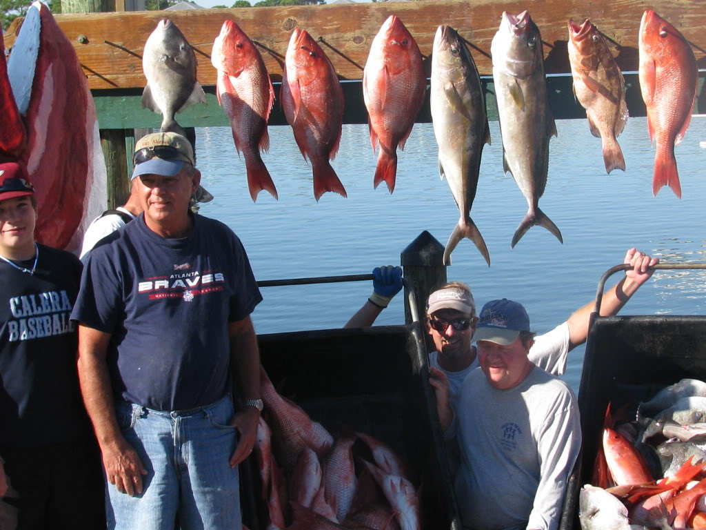 Choose between these 4 awesome fishing charters at zeke 39 s for Zeke s fish