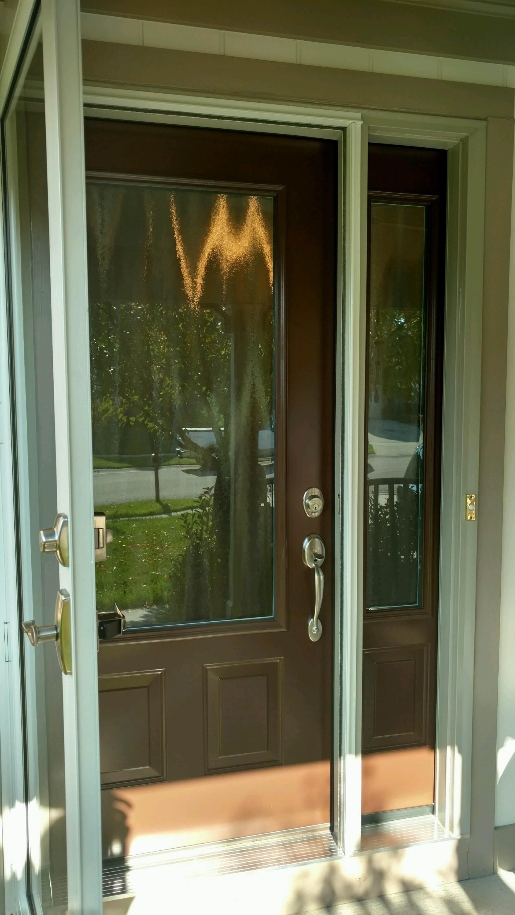 Front Door Friday for a Provia Door installed by JFK Window and Door on