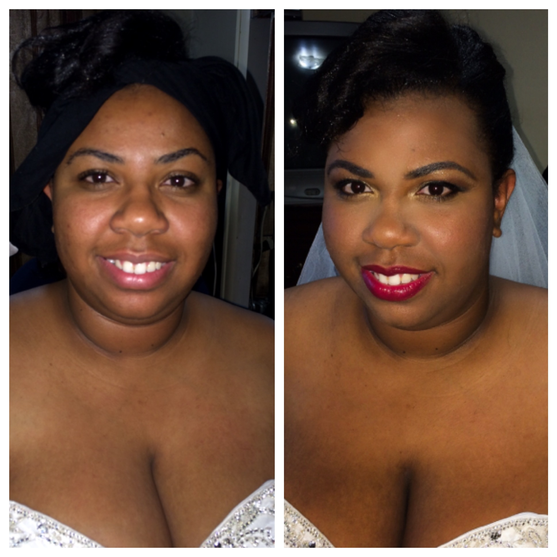 Bridal Makeup Before And After Makeup By Jeannine Summerville - Before and after makeup photos