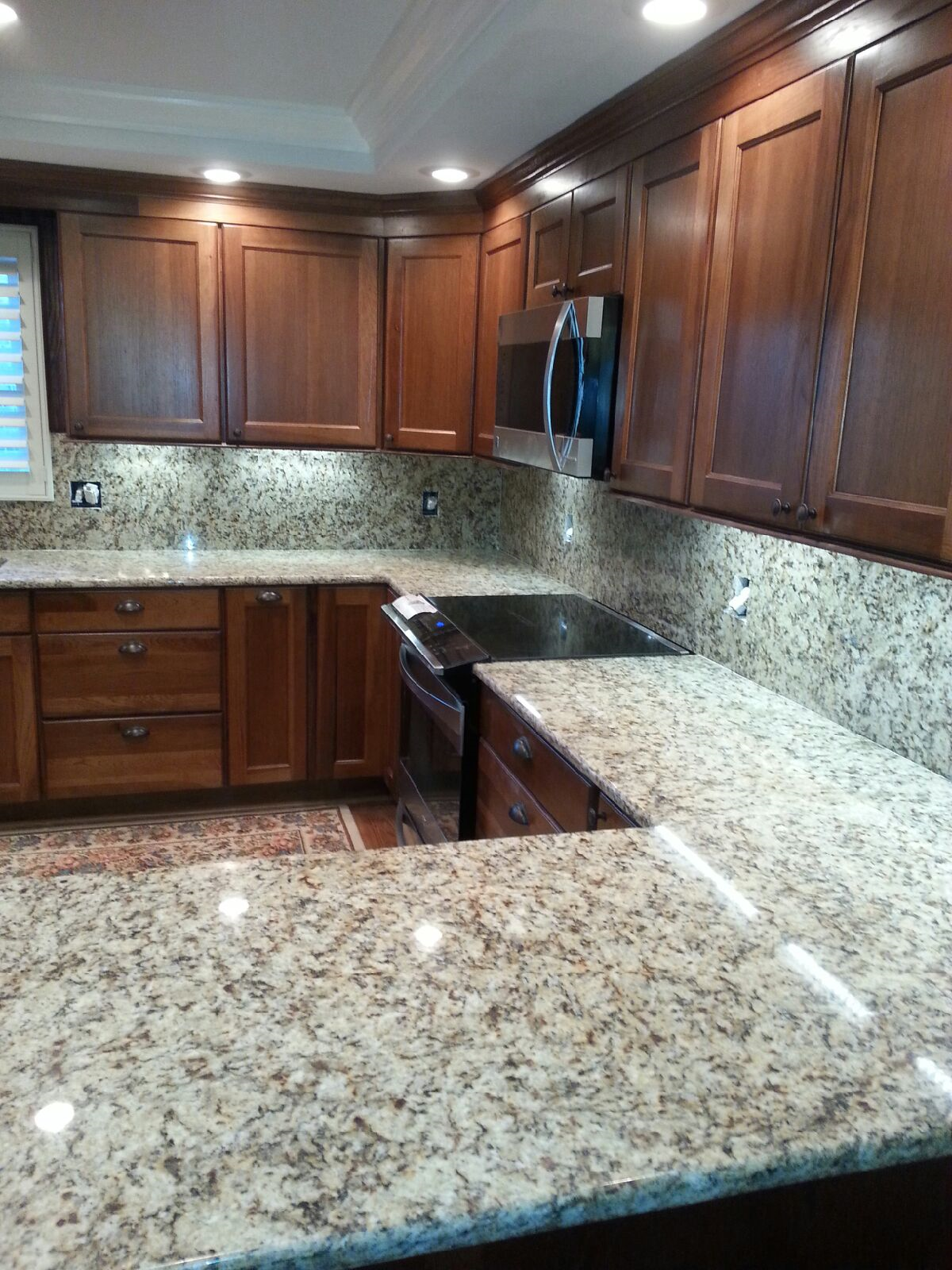 4 benefits of granite countertops for your bathroom or for Local kitchen remodeling