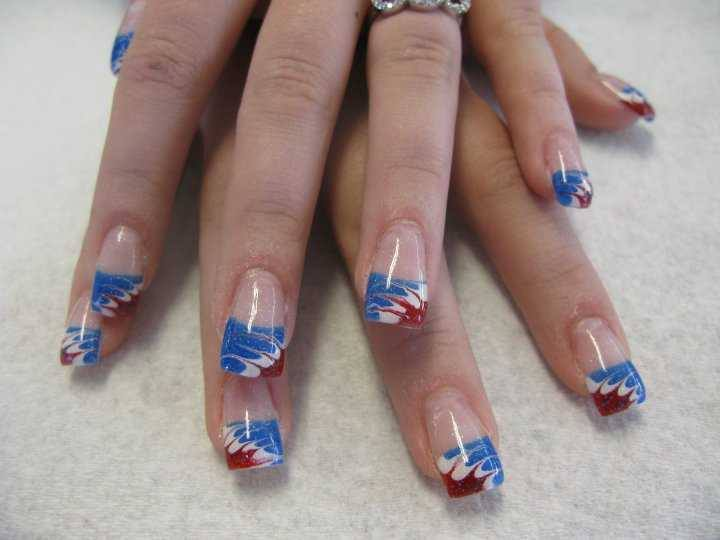 L&T Nails Celebrates 4th of July With Patriotic Manicures - L & T ...