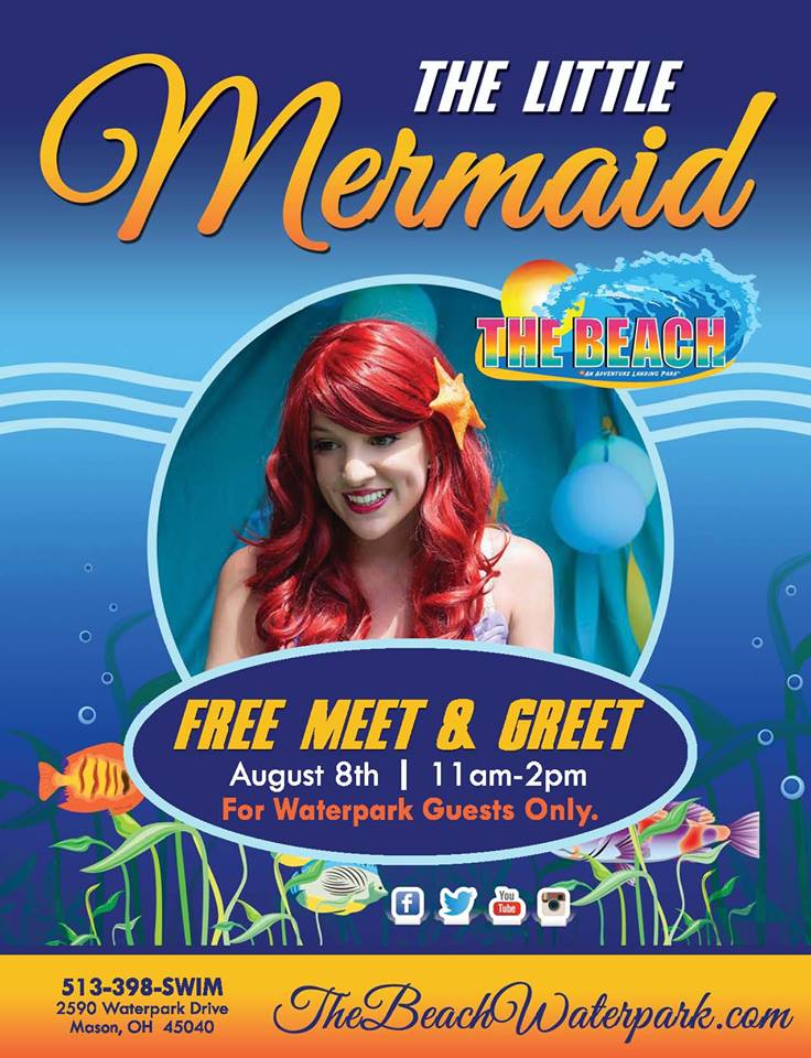 Little mermaid meet greet replaces beach baby contest at the beach little mermaid meet greet replaces beach baby contest at the beach waterpark on august 8th august 7 2015 m4hsunfo