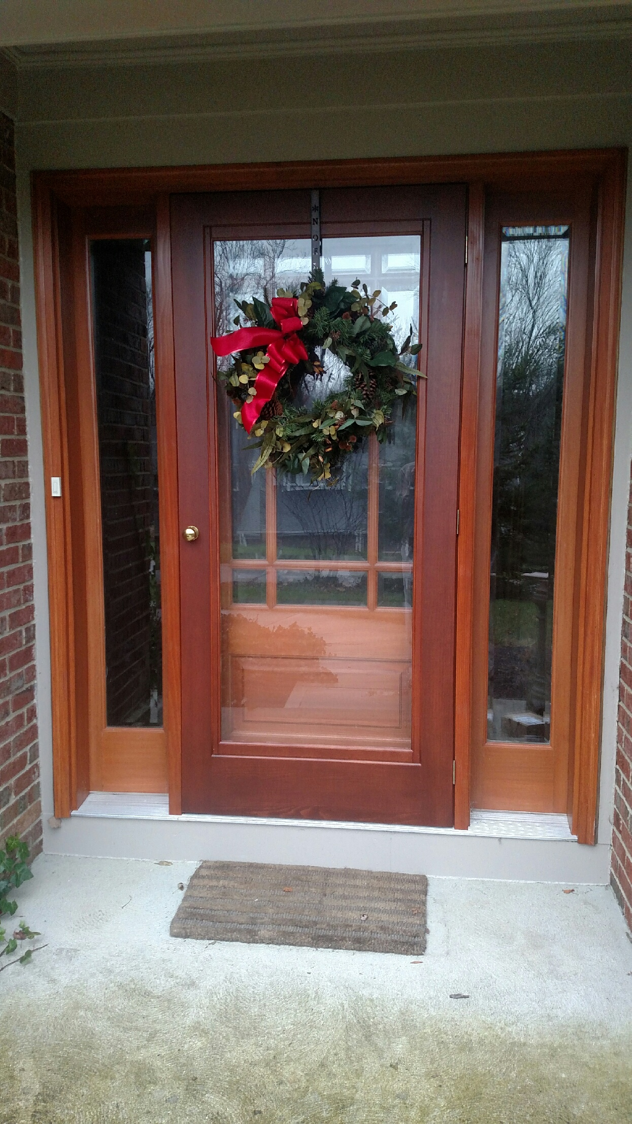 Exterior door with storm door home decor for Front door with storm door