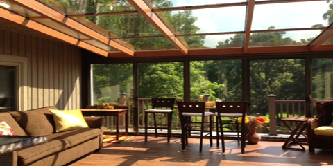 East Rochester NY Glass Roofs