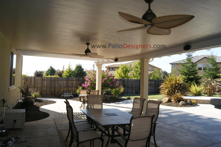 enhance your home with a covered patio from patio designers ... - Patio Designers