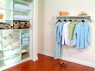 Closets: A Cramped Closet Makes It Difficult To Keep Track Of Your  Wardrobe. Ohio Custom Closets Offers Two Options To Help Organize Any Size  Closet: ...