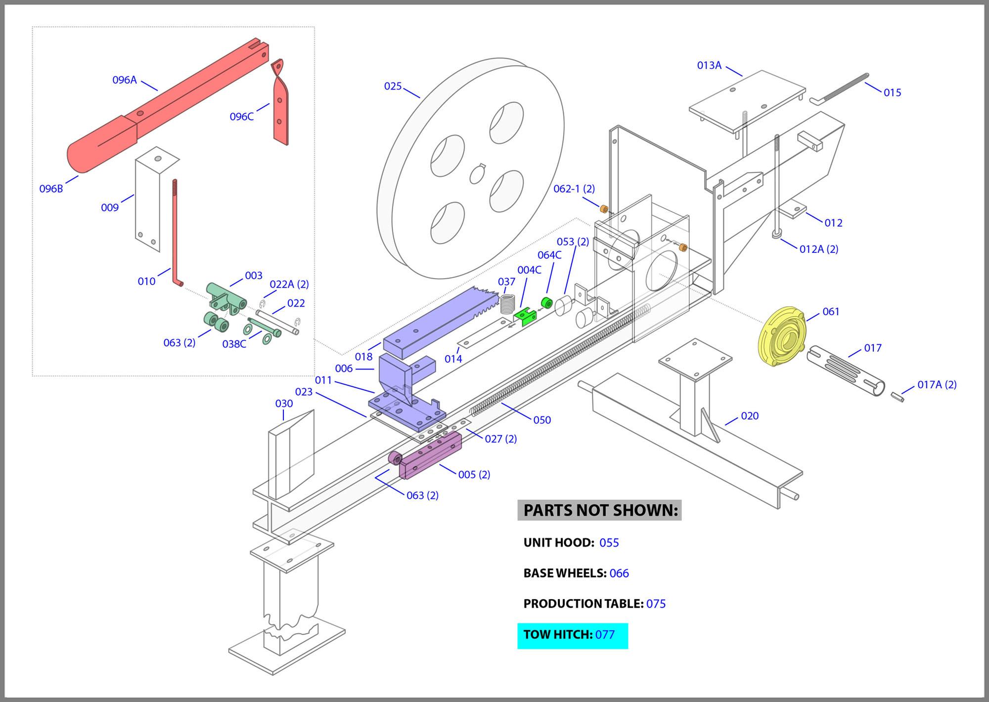 how to order log splitter parts online from supersplitter. Black Bedroom Furniture Sets. Home Design Ideas