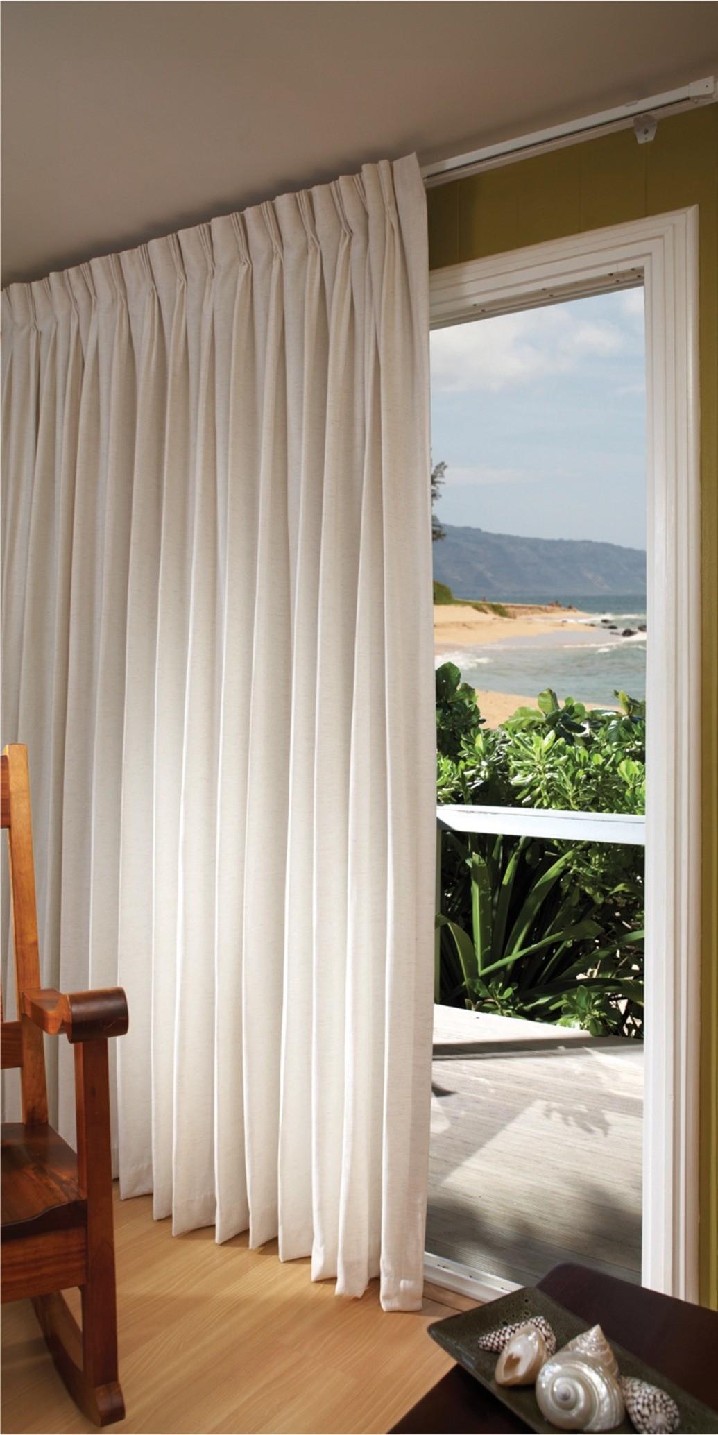 Window Fashions for Patio Doors - Kreative Kama'āina