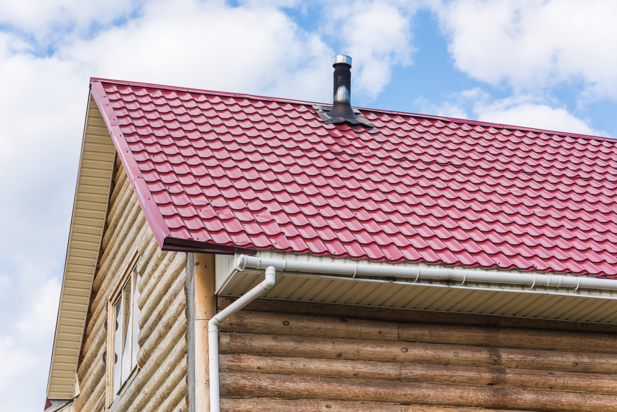 Beautiful Metal Roofing Has A Considerably Longer Lifespan Than Vinyl. In Most Cases,  A Steel Roof Will Last As Long As The Building Remains Standing.