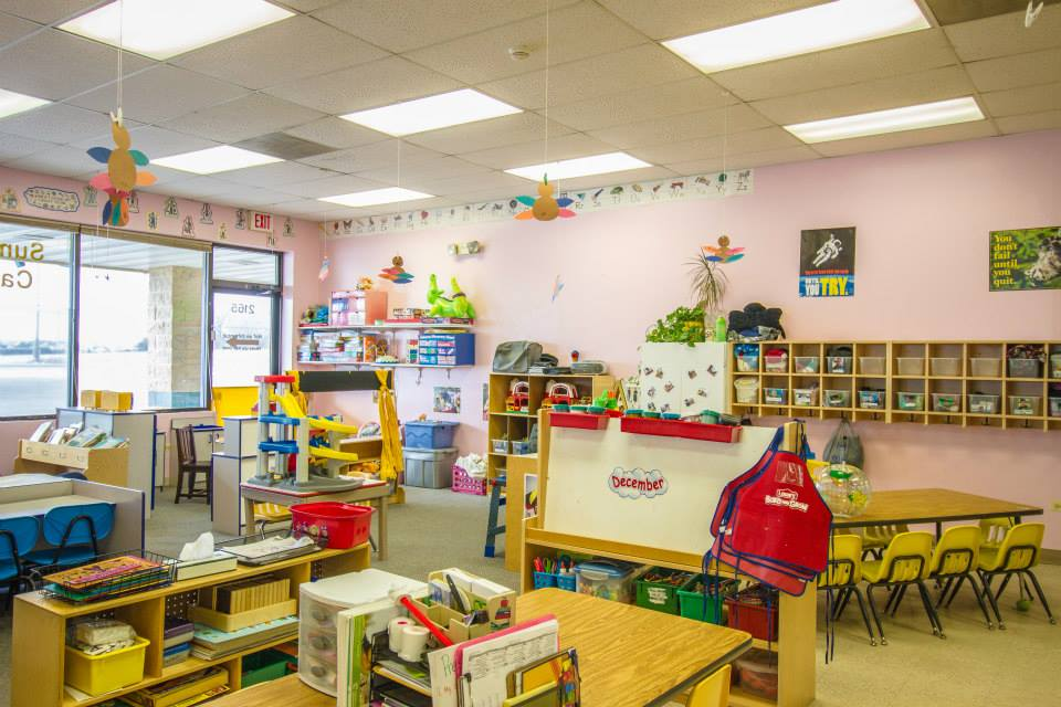 Modern Nursery Classroom ~ Kid friendly classrooms support early childhood learning