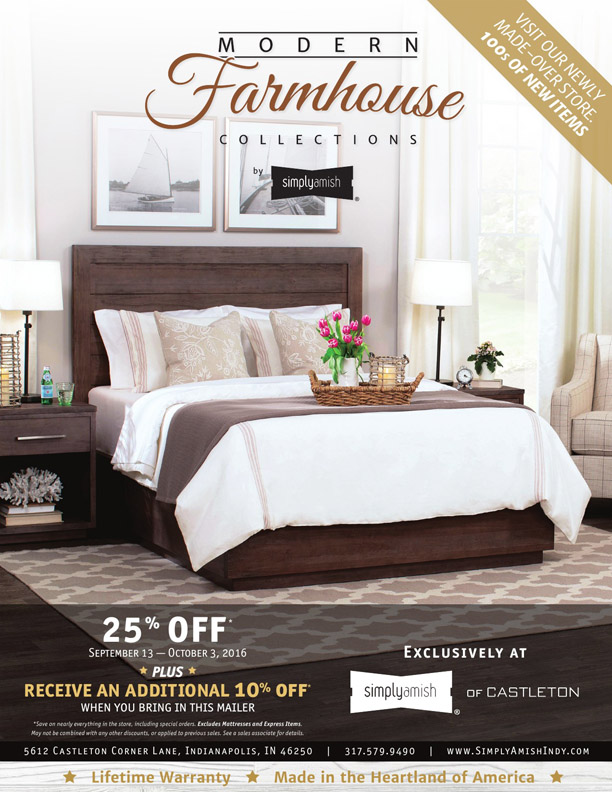 Fall Kickoff Sale Simply Amish Of Castleton Lawrence Nearsay
