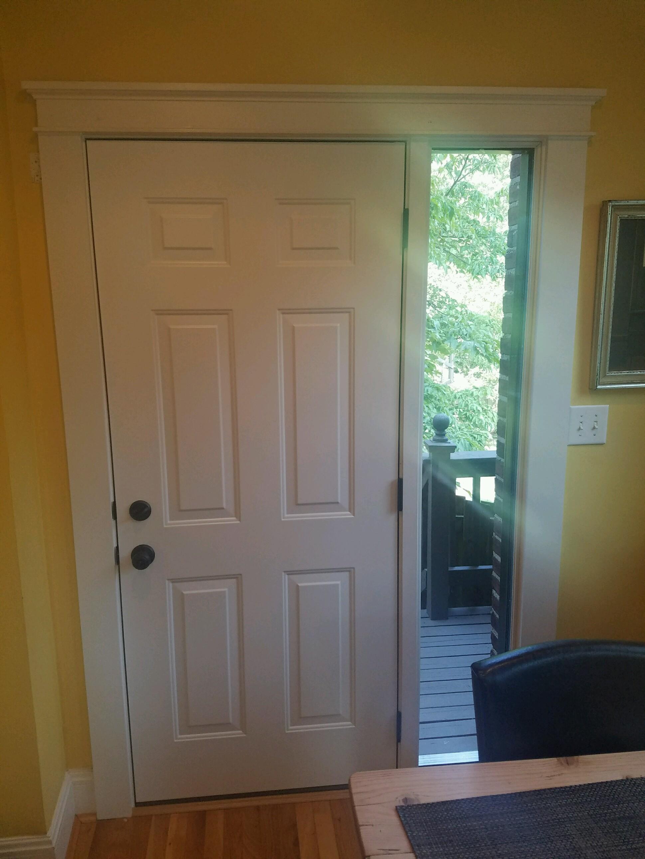 2585 #68491D JFK Window And Door Front Door Friday In Hyde Park For A Provia Door  wallpaper Provia Entry Doors 45751939