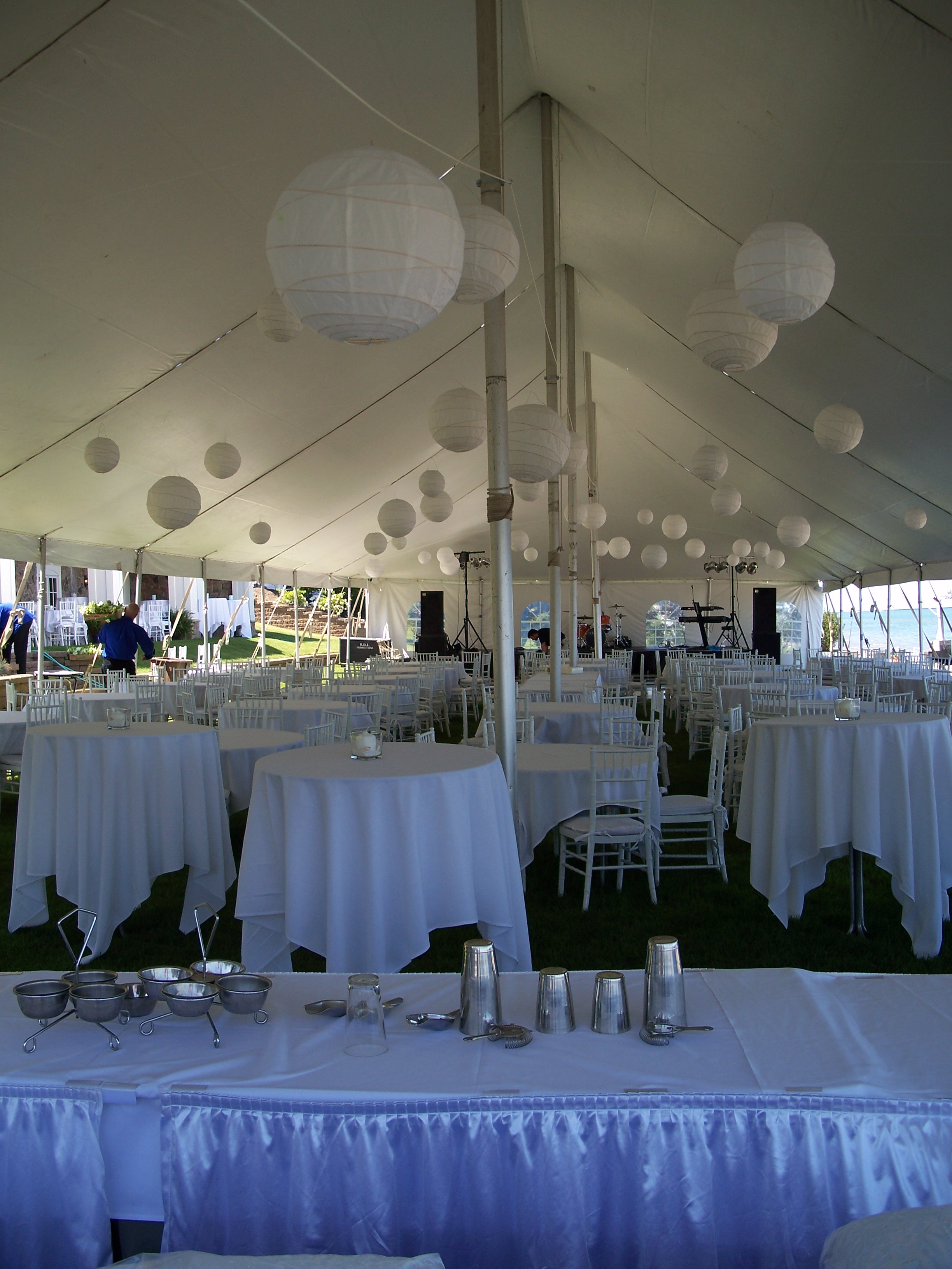 Secure A Tent For Any Outdoor Reception & 3 Tips for Securing Your Wedding Tent Rental - Spatolau0027s Party ...