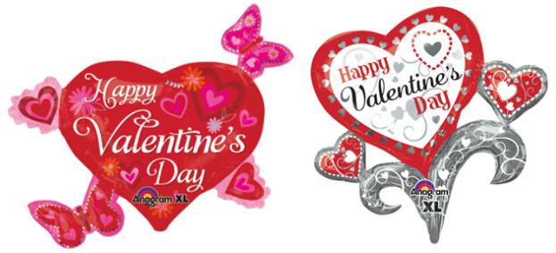 Valentineu0027s Day Balloons