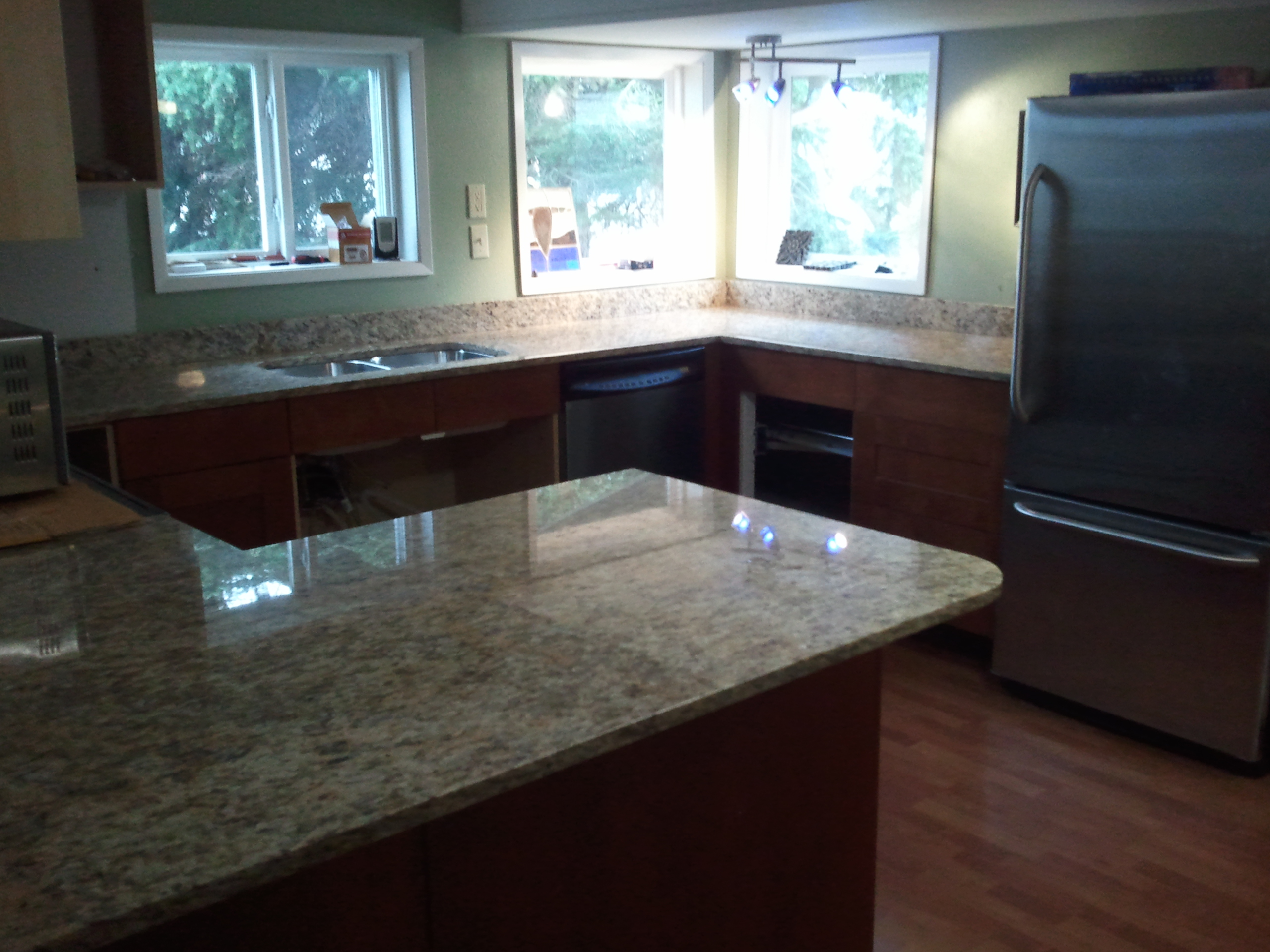 installed the estimator kitchen in project installing granite cost of diy countertops