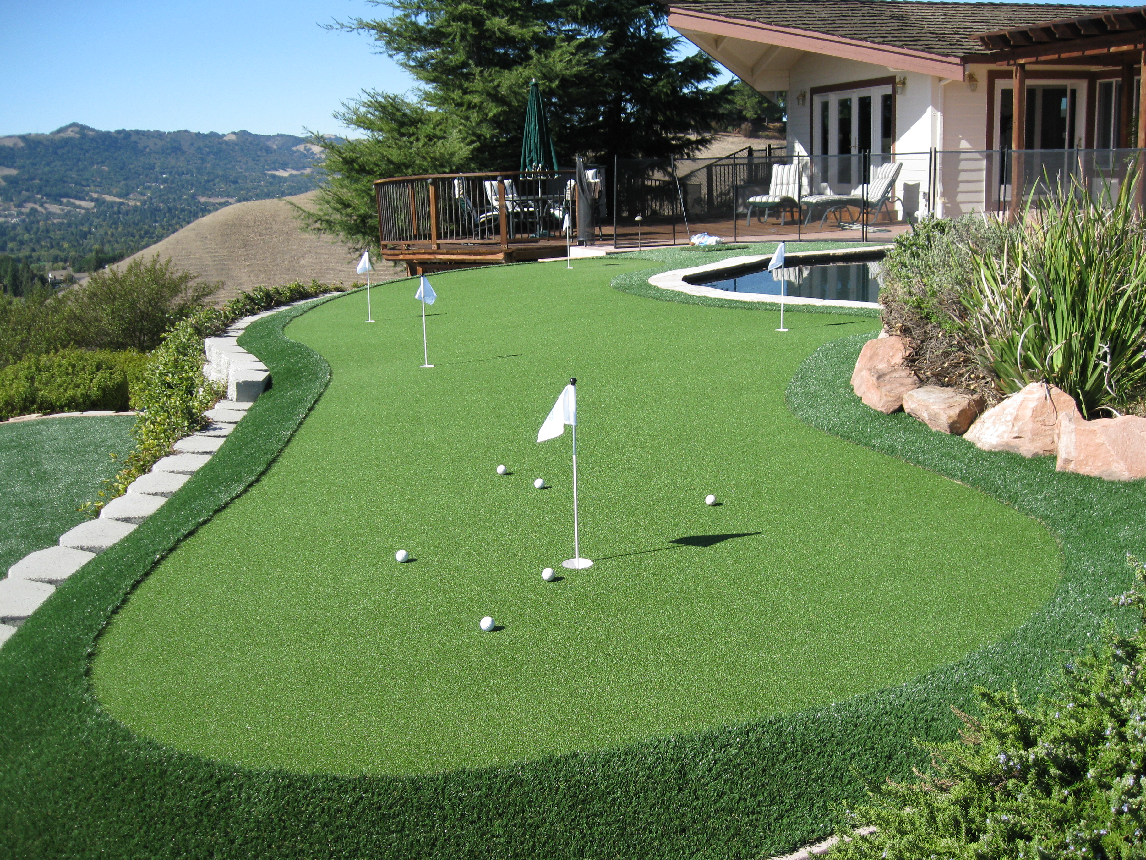 Why Rely On This Landscaping Company To Install Your Own Personal Backyard  Putting Green? Letu0027s Take A Look: