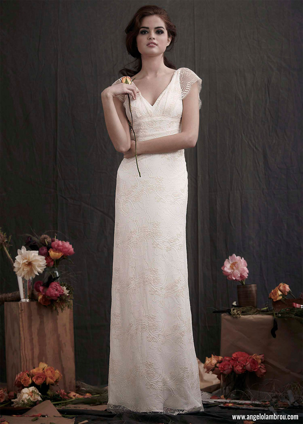 Add a sexy touch to your haute couture wedding dress with for The loft dresses for a wedding