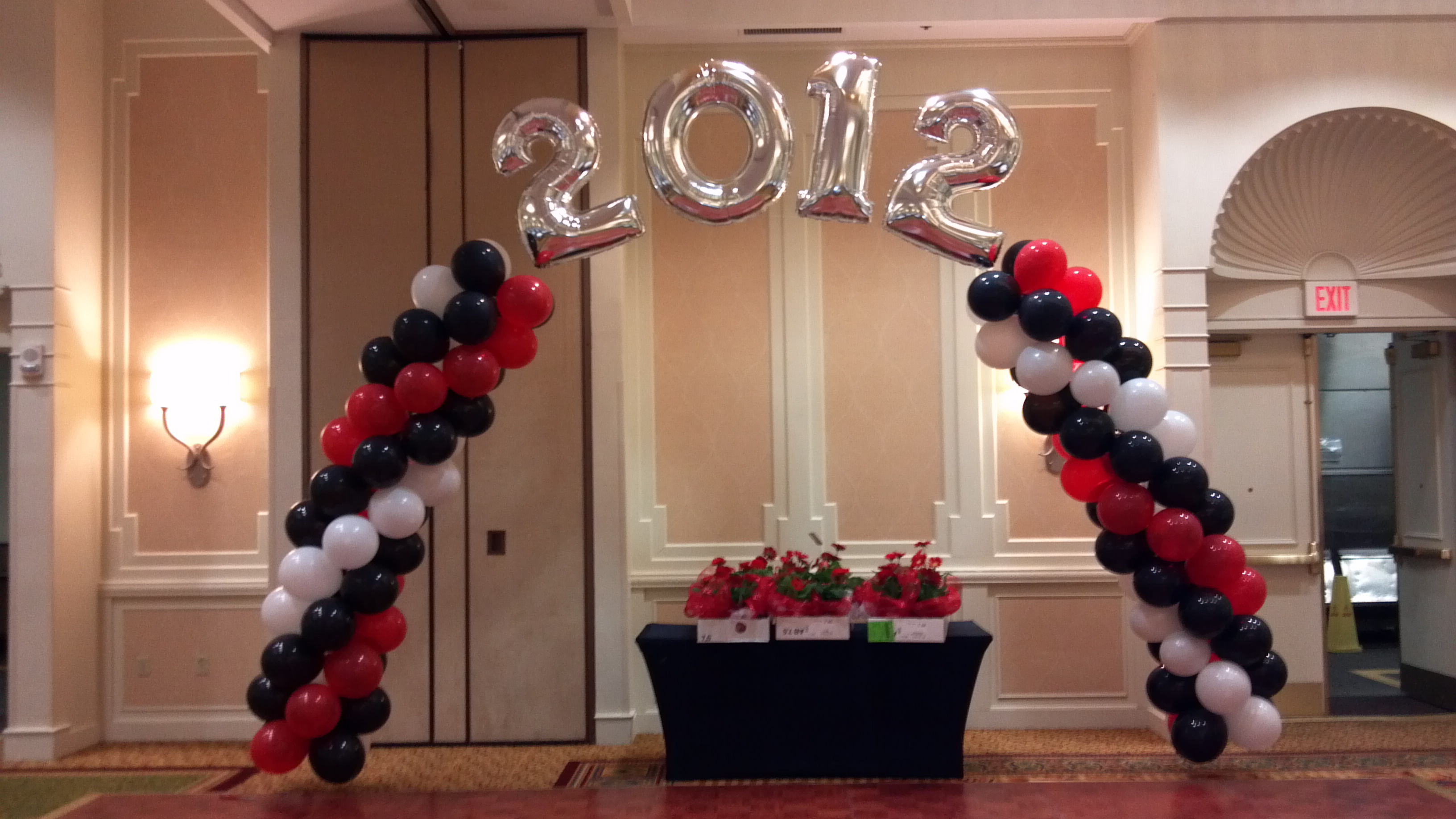 Order spectacular balloon decorations and more for your for Balloon decoration business