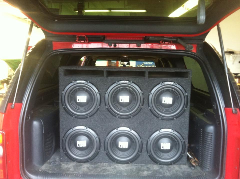 sound system car. car radio sound system