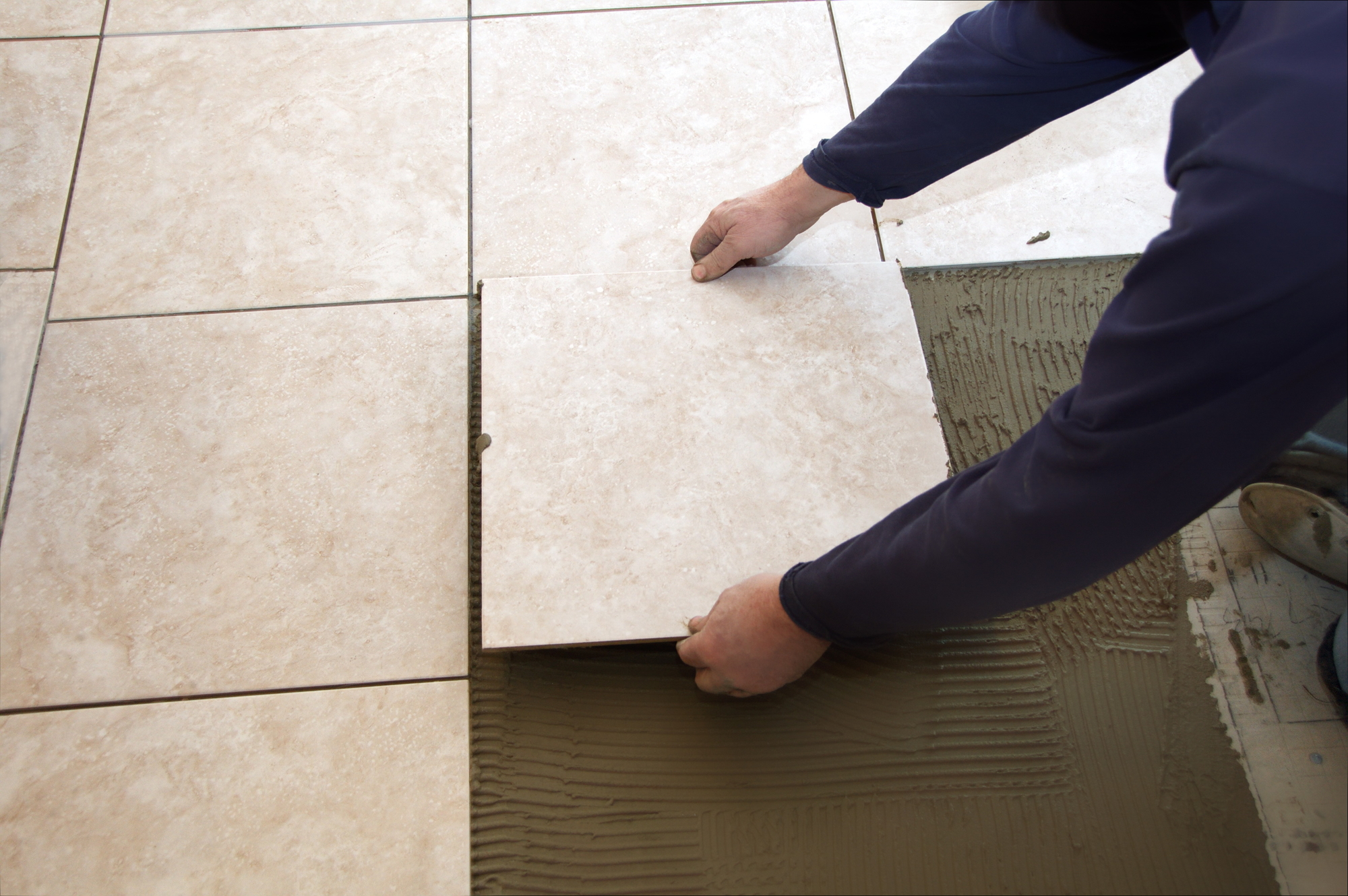 Delighted 12X24 Floor Tile Thin 12X24 Tile Floor Clean 18 X 18 Floor Tile 1950S Floor Tiles Old 1X1 Ceiling Tiles Black24X24 Floor Tile How Much Does It Cost To Buy \u0026 Install Ceramic Tile?   Georgia ..