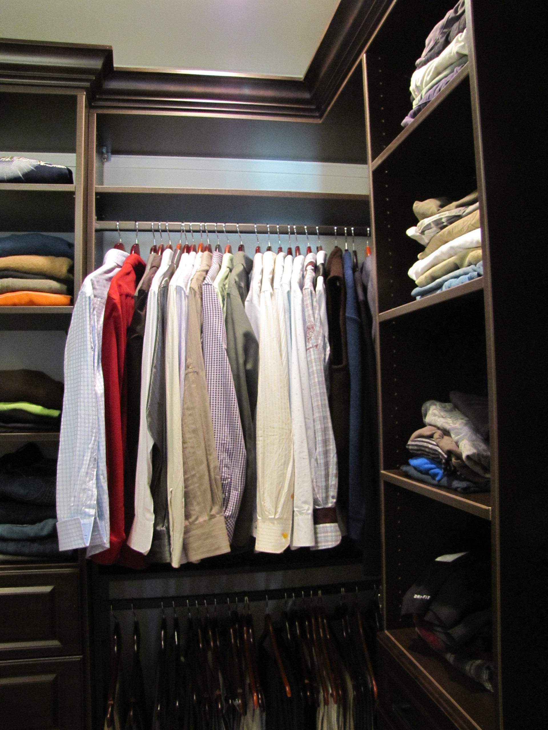 for your closet to make it fixture tips a own how light mirrors moda organization s this dressing into kitchens bright