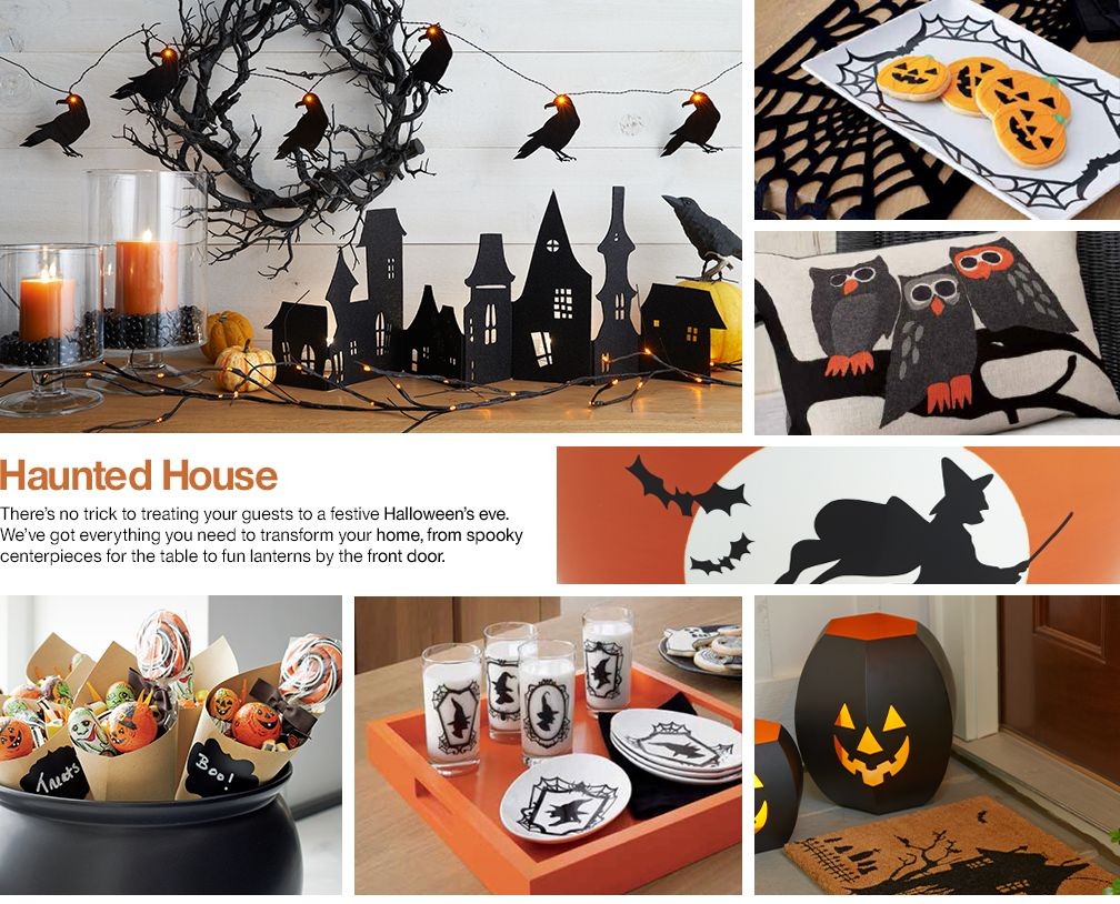 Crate U0026 Barrelu0027s Halloween Home Decor Sets The Stage For A Night Of ...