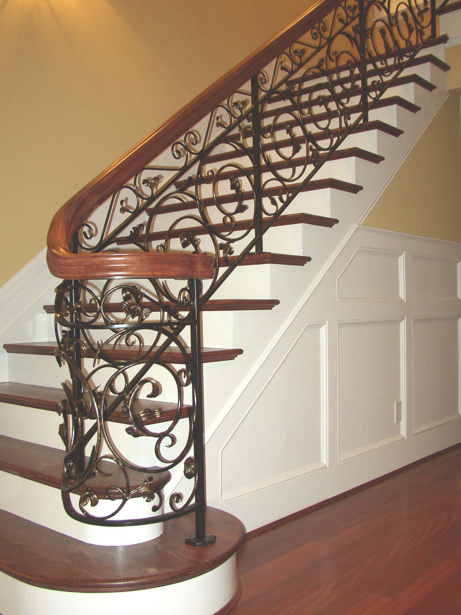 See Elegant Wrought Iron Designs From Elsmere Ironworks At