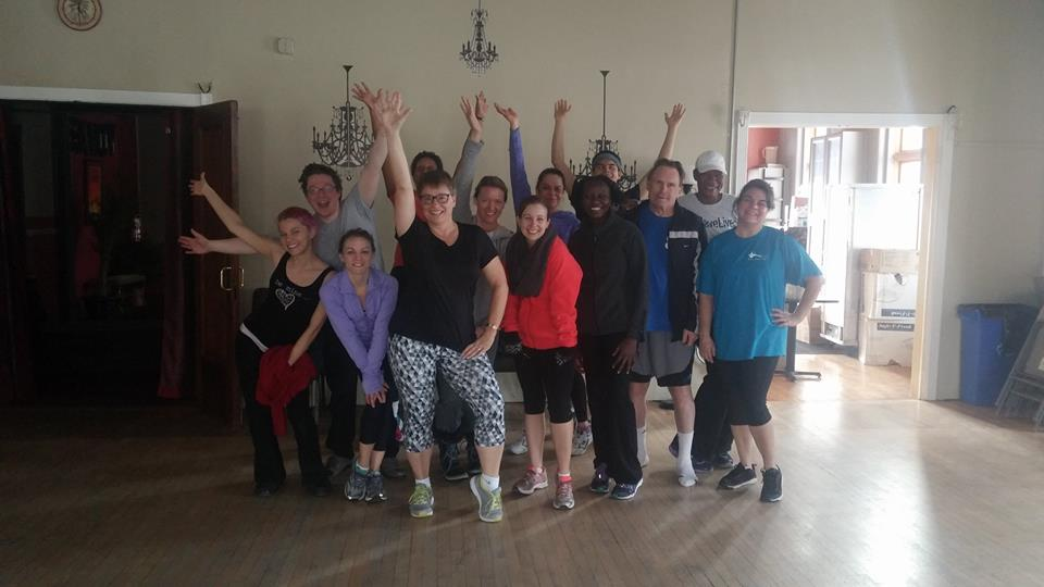 exercise classes at work