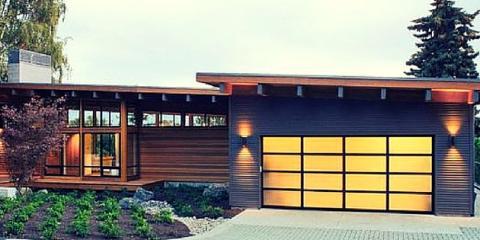Composite Garage Doors: This raised panel model rolls up like a standard spring garage door however newer garage doors are made from composite materials ... & 4 Popular Garage Door Ideas From Affordable Door Inc. - Affordable ... Pezcame.Com