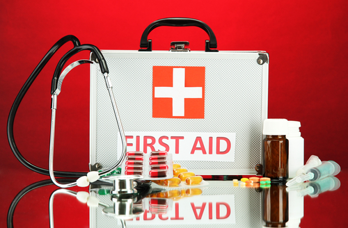 small firstaid kits can only hold so much though if you are searching for a more firstaid kit consider installing one or more cabinets on