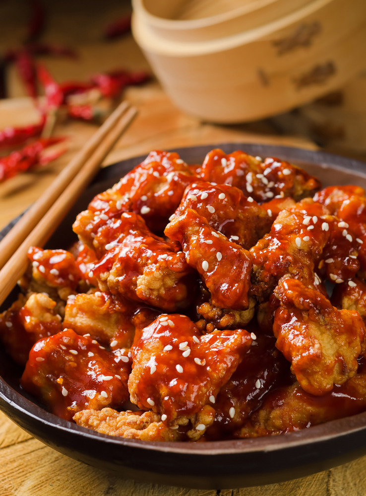Have last minute holiday visitors get chinese food for Asian cuisine delivery