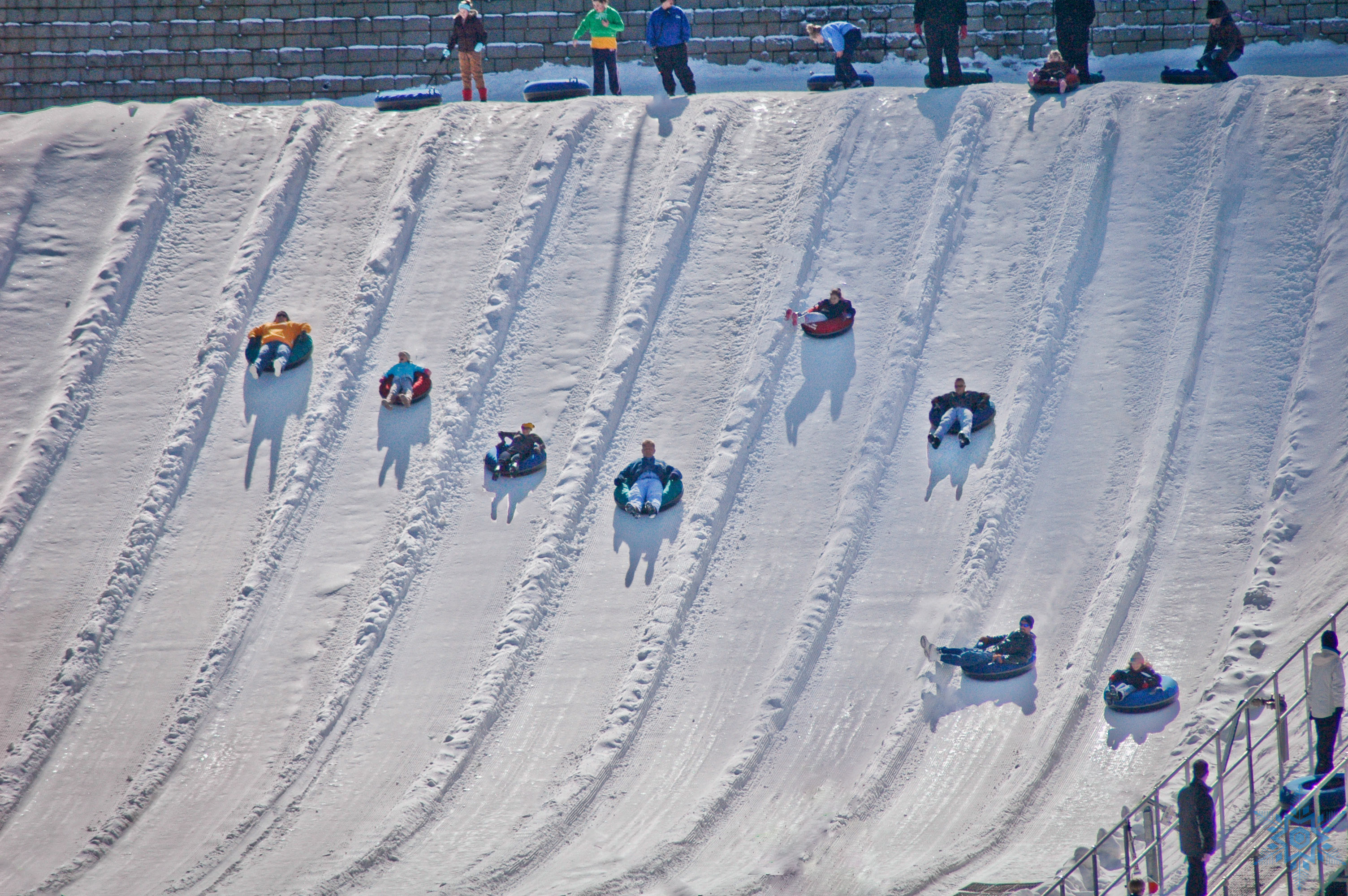 Snow Tubing Group Fun Returns When Beach Mountain Opens On November 20th The Beach Waterpark